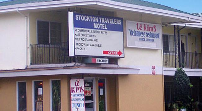 Stockton Travelers Motel - Stockton - Building