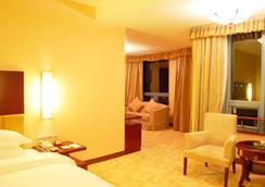 Yinchuan Sheng Shi Garden Hotel - Yinchuan - Bedroom