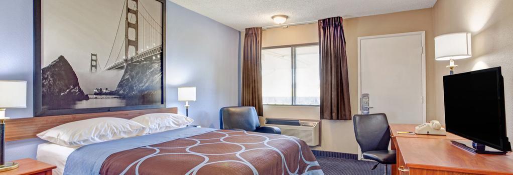 Super 8 Albany - Albany - Bedroom