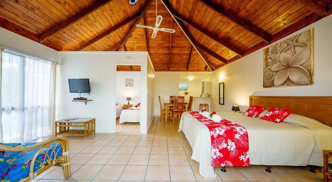 The Cooks Oasis Holiday Villas - Rarotonga - Bedroom