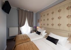 Hotel De Bellevue Gare du Nord - Paris - Bedroom