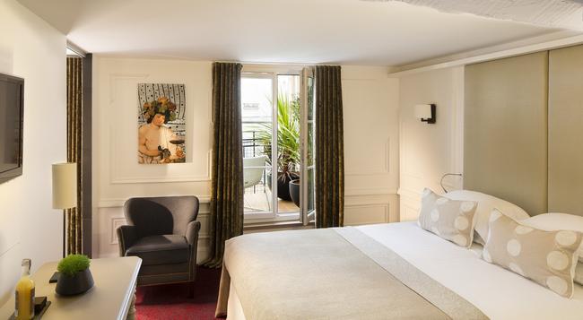 Hôtel Moliere - Paris - Bedroom