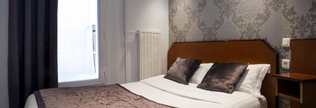 Hotel du Brésil - Paris - Bedroom