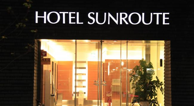 Hotel Sunroute Higashi Shinjuku - Tokyo - Building