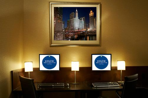 Kinzie Hotel - Chicago - Business centre