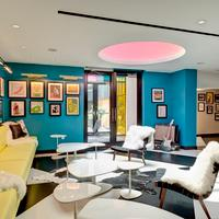 The Verb Hotel Lobby Sitting Area