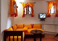 Hotel Dar Mounir - Chefchaouen - Bedroom