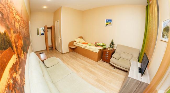 Majskij Aparthotel - Saint Petersburg - Bedroom