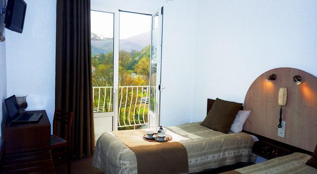 Hotel Notre Dame De La Sarte - Lourdes - Bedroom