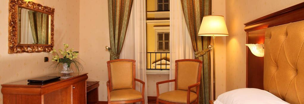 Serena Hotel - Rome - Bedroom