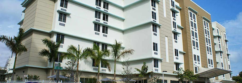SpringHill Suites Miami Downtown/Medical Center - Miami - Building