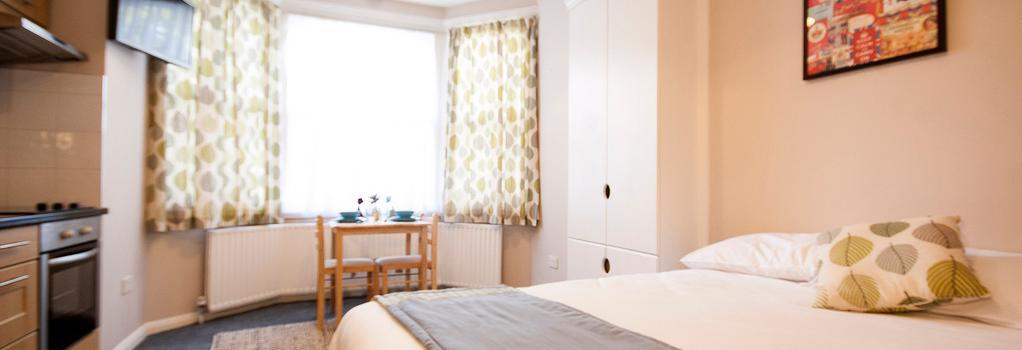 United Lodge Hotel & Apartments - London - Bedroom