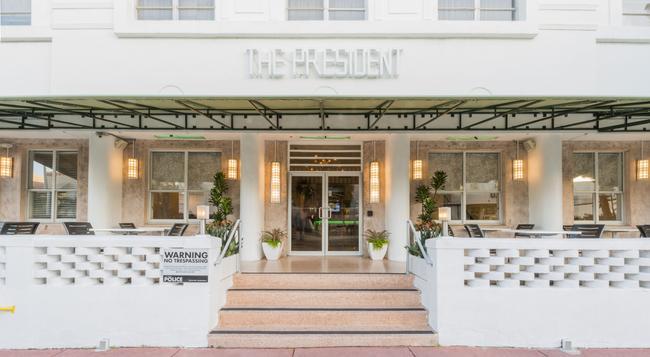 President Hotel - Miami Beach - Building