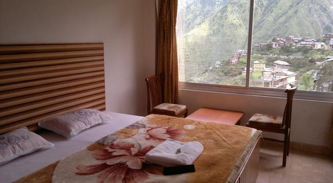 Hotel Bharmour View - Brahmaur - Bedroom