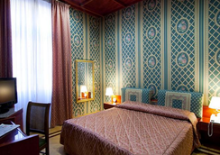 Hotel Galles - Rome - Bedroom