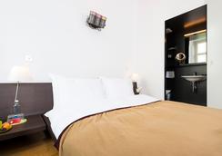 Design Hotel Plattenhof - Zurich - Bedroom