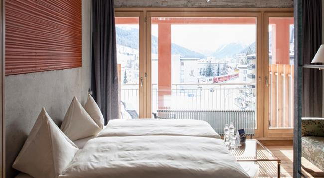 Hotel Ochsen - Davos - Bedroom