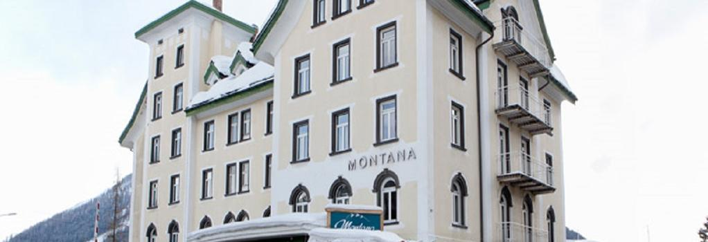 Hotel Montana - Davos - Outdoor view