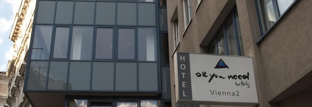 AllYouNeed Hotel Vienna 2 - Vienna - Building